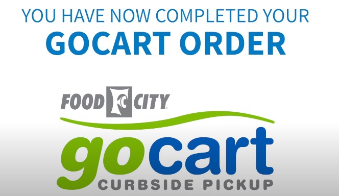 How to shop online using Food City gocart curbside pickup