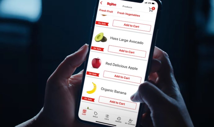 How to use Hy-Vee app